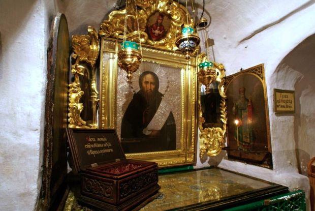 Гроб преподобного Феодосія Печерського