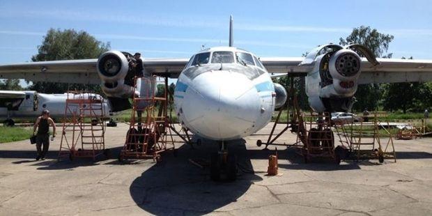 Ан-26, відновлений волонтерами, покажуть у Борисполі