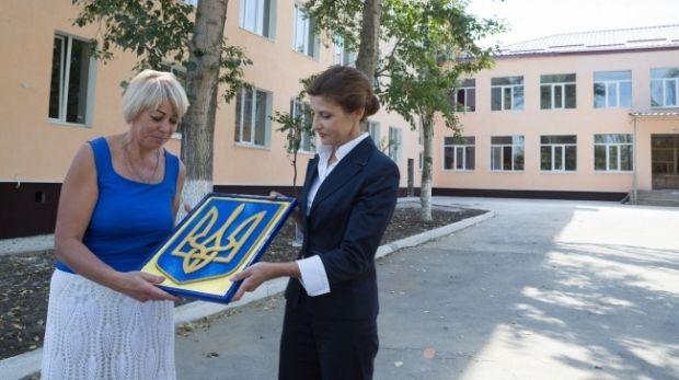 Славянск посетила жена Президента Марина Порошенко