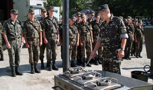 Першокурсники пройшли табірний збір / Фото прес-служба Міністерства оборони