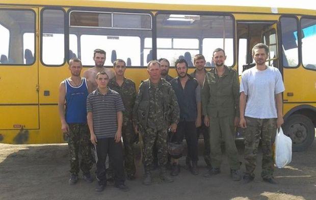 На Луганщині вдалося визволити 9 бійців / facebook.com/ato.news