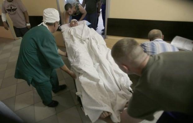 Раненый в госпитале / Фото: УНИАН