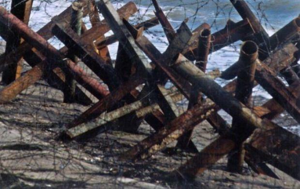 Иллюстративное изображение: противотанковые ежи / Фото УНИАН