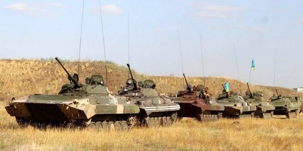 БТГ 72-й бригады возвращается в зону АТО