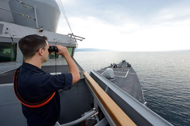 эсминец Росс, США / U.S. Navy