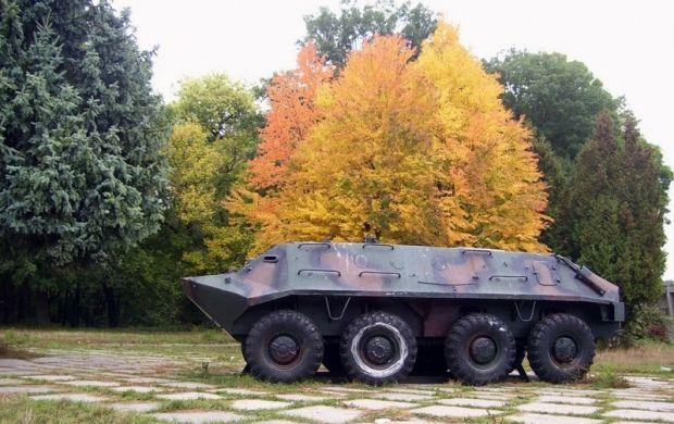 Тернополь пожертвовал БТРы воинам АТО / vu.ua