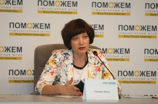 Миллион человек получили помощь от Штаба Ахметова за период с мая 2014 г.