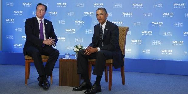Обама на встрече с Кэмероном заявил о необходимости решить конфликт в Украине