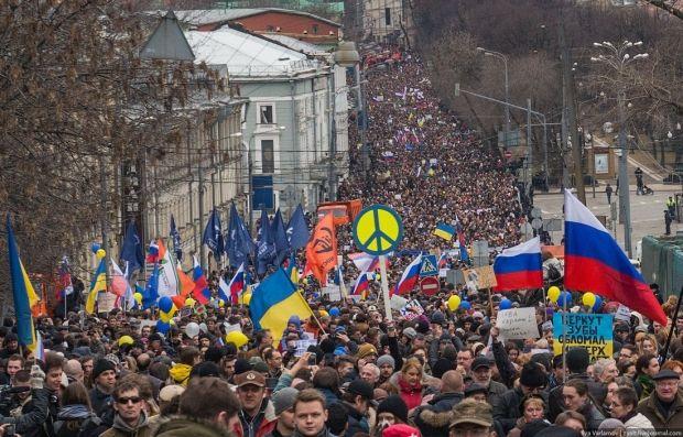 Марш мира в Москве 15 марта / varlamov.me