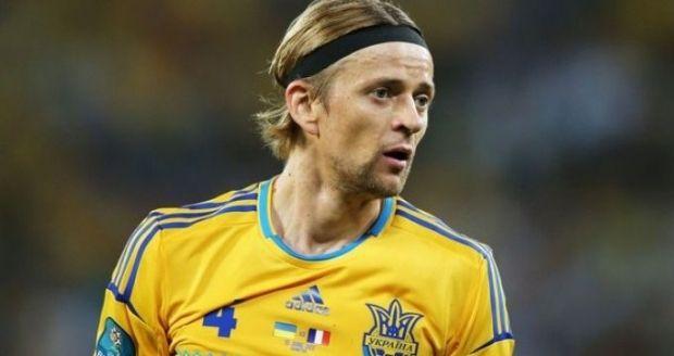 Анатолій Тимощук отримав травму у матчі з Молдовою / xsport.ua