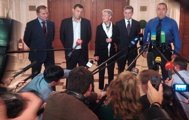 Участники переговоров в Минске / фото instagram/vasilymaximov