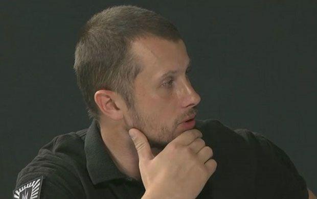 андрей билецкий, комбат, Азов / times.if.ua