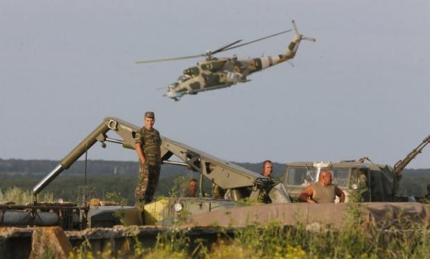 Бойовики продовжують обстрілювати позиції сил АТО  / Фото УНИАН