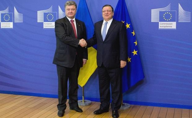 Порошенко и Баррозу обсудили вопрос таможенных пошлин / УНИАН