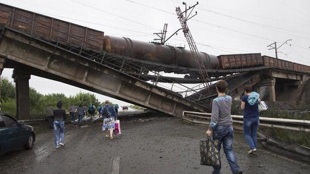 Инфраструктурные объекты «Укрзализныци» подвергались целенаправленному разрушению