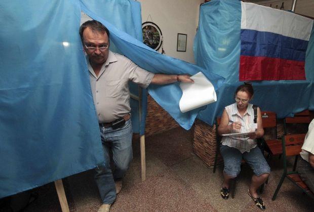 Севастополь, выборы / REUTERS