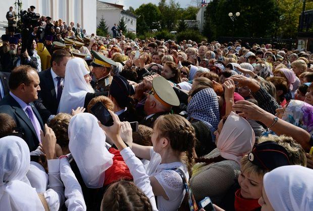 Молебен в Благовещенском соборе Биробиджана (Россия). Фото: свящ. Игорь Палкин.