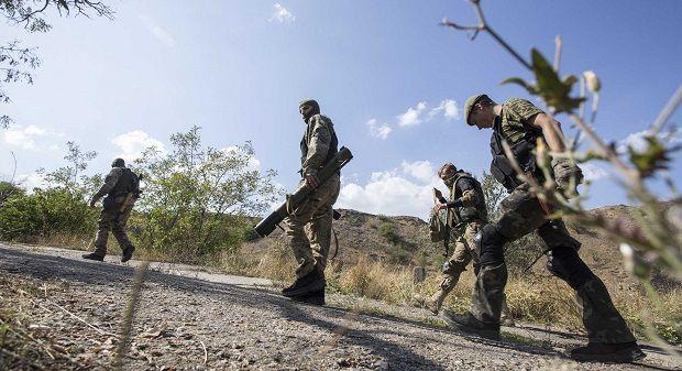 Ночью боевики не обстреливали позиции украинских военных