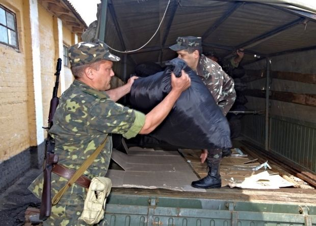 З Харкова до зони АТО відправили 15 тонн майна / Міноборони України