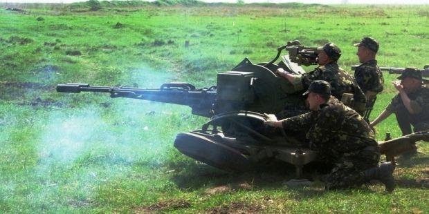 Зенітники вражали наземні цілі / Фото прес-служба Міноборони