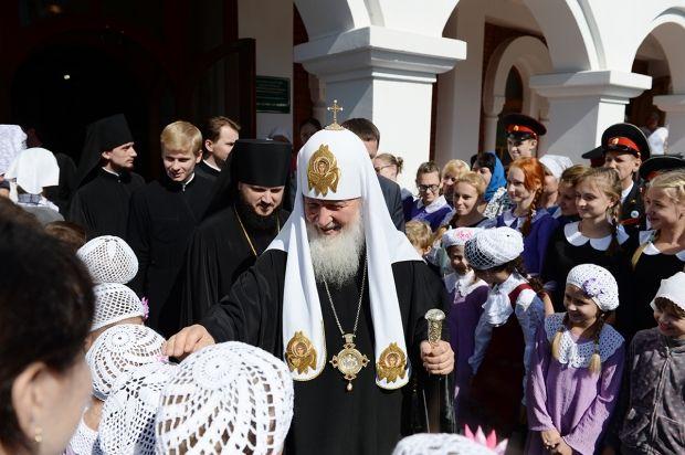 Патриарший визит в Приамурскую митрополию РПЦ. Фото - священник Игорь Палкин.