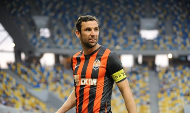 Darijo Srna's goal lets Shakhtar win the Super Cup of Ukraine / Photo from UNIAN