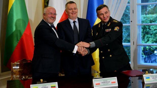 Україна, Литва та Польща створюють військовий підрозділ / mil.gov.ua
