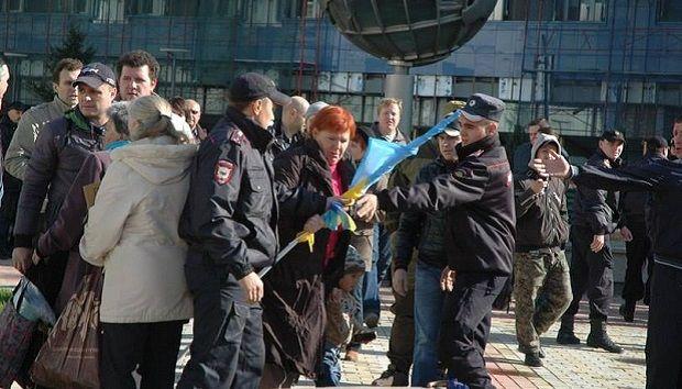 Марш мира в Новосибирске не состоялся / facebook.com/sasha.sotnik