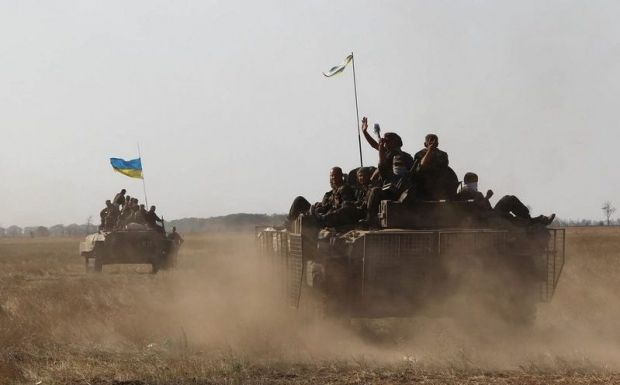 Боевики обстреляли позиции сил АТО для провокации / фото пресс-службы Минобороны