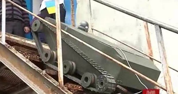 Во Львове создали робота-разведчика