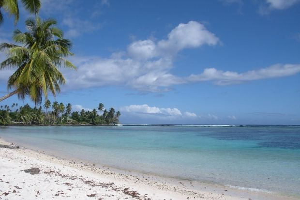 Заповедник растянется от Самоа до Гавайских островов / Wikipedia