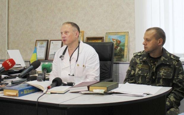 В Черниговском госпитале сейчас лечатся более 40 бойцов