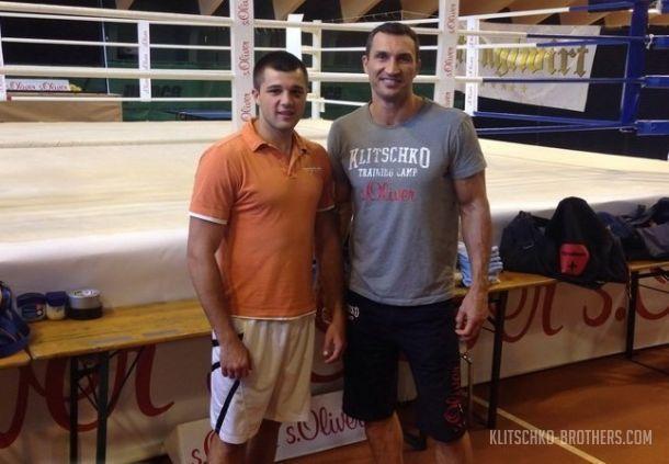 Сергей Радченко помогал Кличко готовится к бою с Пулевым  / klitschko-brothers.com