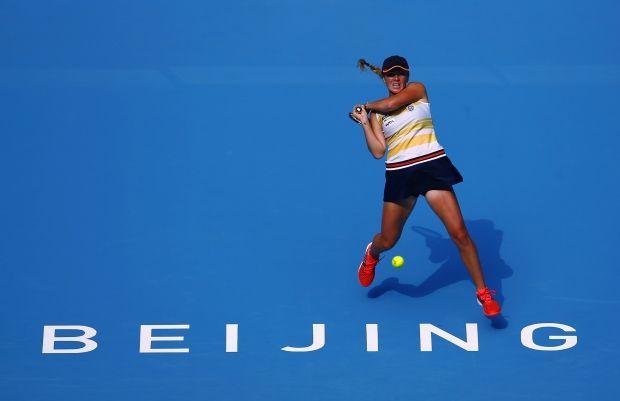 Элина Свитолина не смогла пройти дальше второго круга в Пекине / Reuters