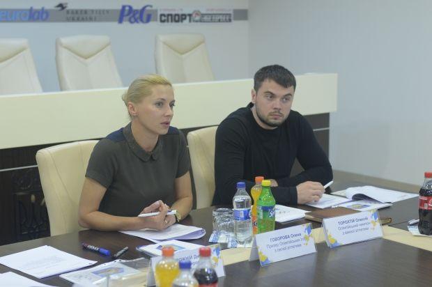 Олена Говорова та Олексій Торохтій очолюватимуть Комісію атлетів протягом наступних чотирьох років / noc-ukr.org