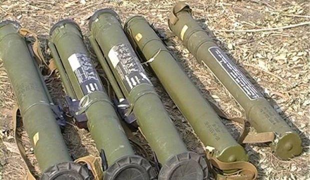 В микроавтобусе найден арсенал оружия