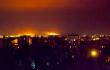 Под Мариуполем после обстрела горят поля <br> facebook.com/gregory.zhygalov