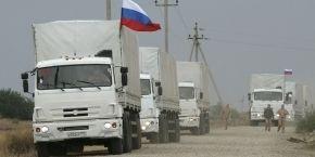 Красный Крест не будет сопровождать третий российский гумконвой