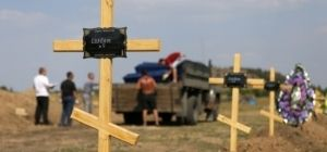 New York Times: Солдатские могилы свидетельствуют о роли России в Украине