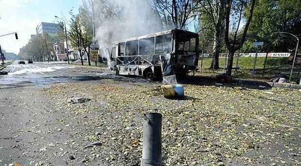 В Донецке при обстрелах боевиков погибли 10 мирных жителей