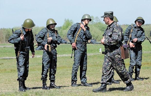 Відбувається формування військових частин у Збройних силах України / Фото Oлександра Лепетухи