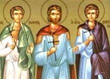 2 октября – память святых мучеников Трофима, Савватия и Доримедонта