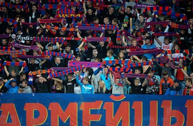 ЦСКА пострадал из-за собственных фанатов / rusplt.ru