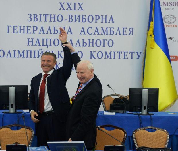 На Генеральній асамблеї НОК був присутній президент ЄОК Томас Хіккі / noc-ukr.org