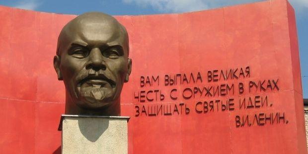 В Одесской области снесли еще одного Ленина