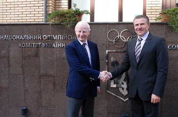 Хіккі відвідав Київ з робочим візитом / noc-ukr.org