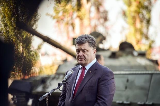 Порошенко посетил танковый завод