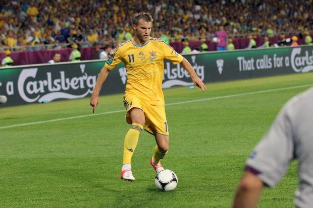 Андрей Ярмоленко установил новый рекорд сборной / sport-xl.org