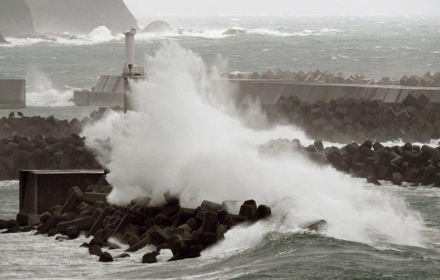 На Китай надвигается супертайфун
