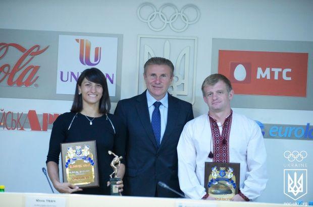 Юлія Ткач вперше отримала нагороду кращого спортсмена місяця в Україні / noc-ukr.org